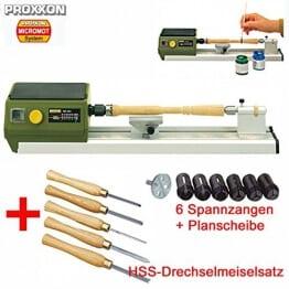 proxxon micro drechselbank dre 262x262 - PROXXON MICRO Drechselbank / Drechselmaschine DB 250 SET